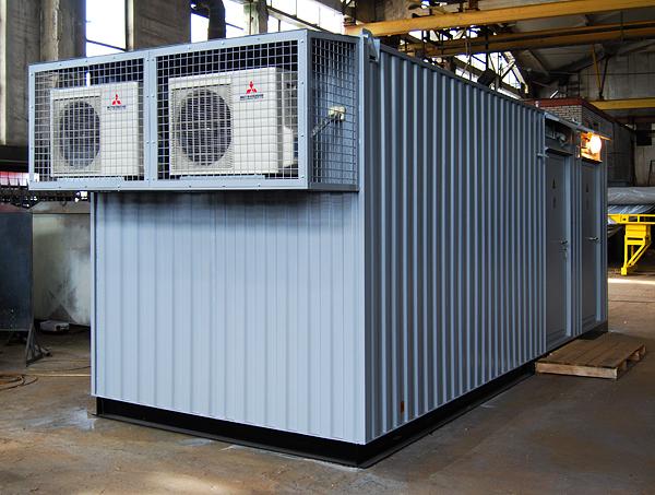 Контейнерные дизельные электростанции серии МКЭ, производство блочно-модульных ДЭС и электростанций контейнерного типа Север. Ко